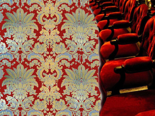 Damask og velour serie Theatre